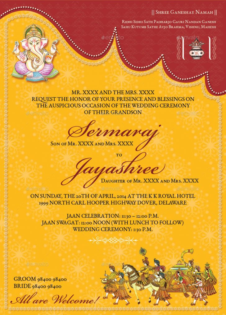 17 Beautiful Marathi Wedding Invitation Wording Sample