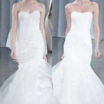 Monique Lhuillier Fall 2013 Wedding Dresses