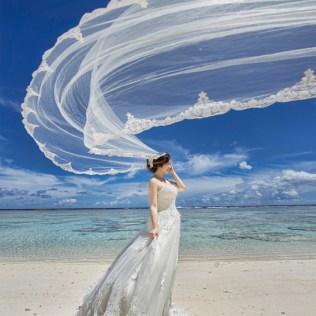 Flying Veil – Magical Bridal Session » Praise Wedding Community