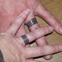Make A Rocking Couple By Astonishing Ring Tattoos
