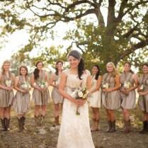 Rustic Wedding Dresses For Bridesmaids