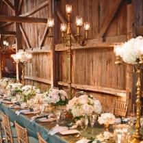 Rustic Elegance Wedding Reception Venue And Decor
