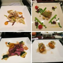 A La Carte Menu Served At The Etihad First And Business Class