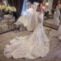 Vestido De Noiva Vintage Lace Mermaid Wedding Dresses Sexy
