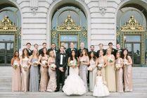 Glam San Francisco City Hall Wedding