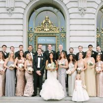 Glam San Francisco City Hall Wedding