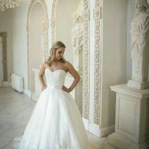 Morilee 1917 Wedding Dress Sample Size 10