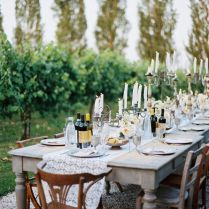 Intimate Italian Wedding With Rustic Details