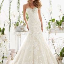 Details About Mori Lee Wedding Dress Style 2817 Floor Sample Size