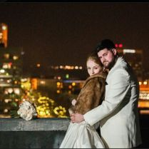 New Years Eve Wedding Roof Top Of The Westin Poinsett Hotel
