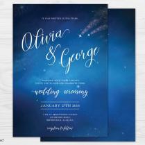 Starry Night Wedding Star