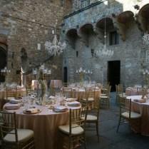 Karen Willis Holmes For A Rustic Italian Wedding In A Castle