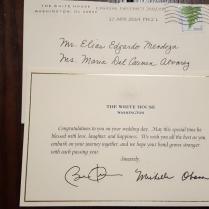 Even In Retirement, Obama Still Responds To Strangers' Wedding