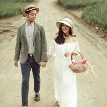 Vintage Outdoor Engagement