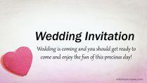 Wedding Invitation Sms To Invite Friends