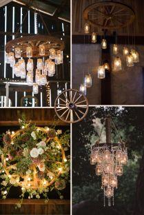 Creative Rustic Wagon Wheel Wedding Decoration Ideas