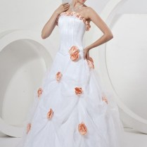 White And Orange Wedding Dresses Pictures Ideas, Guide To Buying
