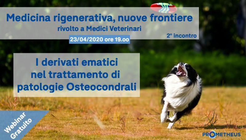 Webinar PRP per patologie osteocondrali