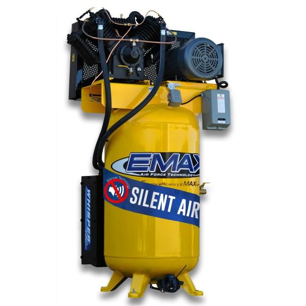 EMAX Industrial Plus 7.5hp 80 Gallon 1 PH Silent Air System