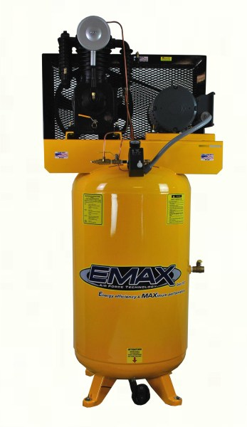 Emax Industrial Plus 5HP Single Phase 80 gallon Vertical Air Compressor