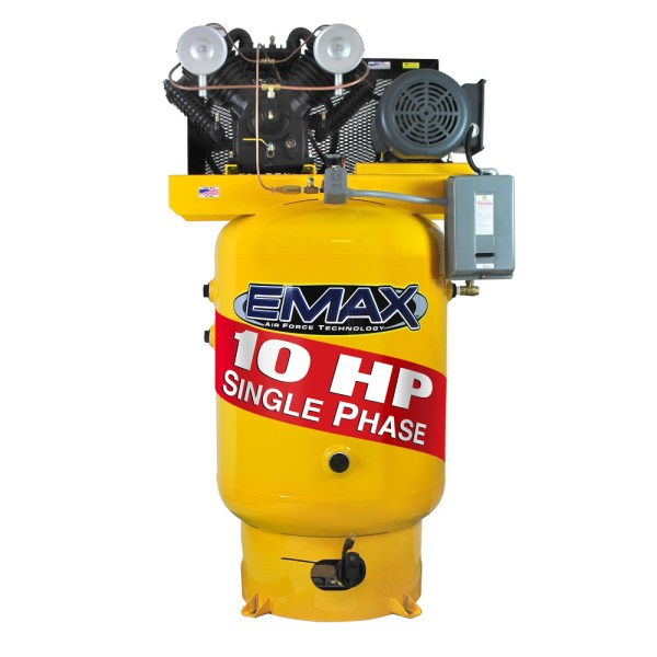 Emax Industrial Plus 10hp Single Phase 120 gallon Vertical Air Compressor