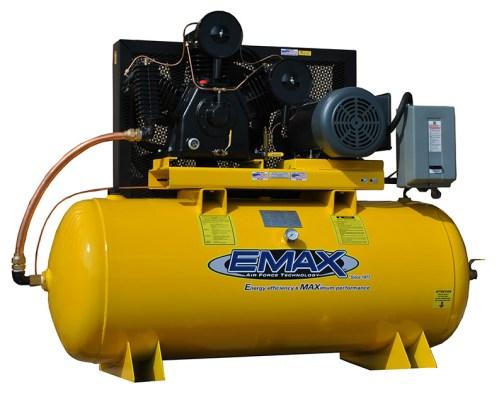 Emax Industrial Plus 10/15 Single Phase Horizontal Air Compressor