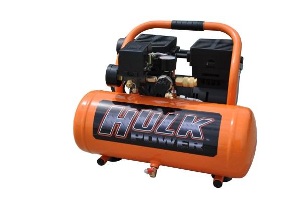 New 1hp 2 Gallon Hulk Silent Air Portable Compressor
