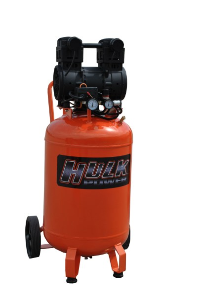 New 2hp 20 Gallon Hulk Silent Air Portable Compressor