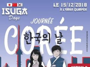 Affiche Journée Corée à l'EMBA de Quimper