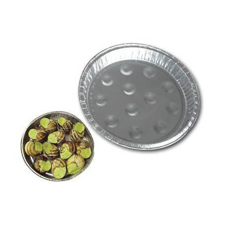plat special assiette alveolee aluminum escargots
