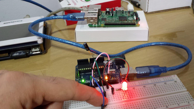 Sistema Web com Raspberry Pi: Sistema running!