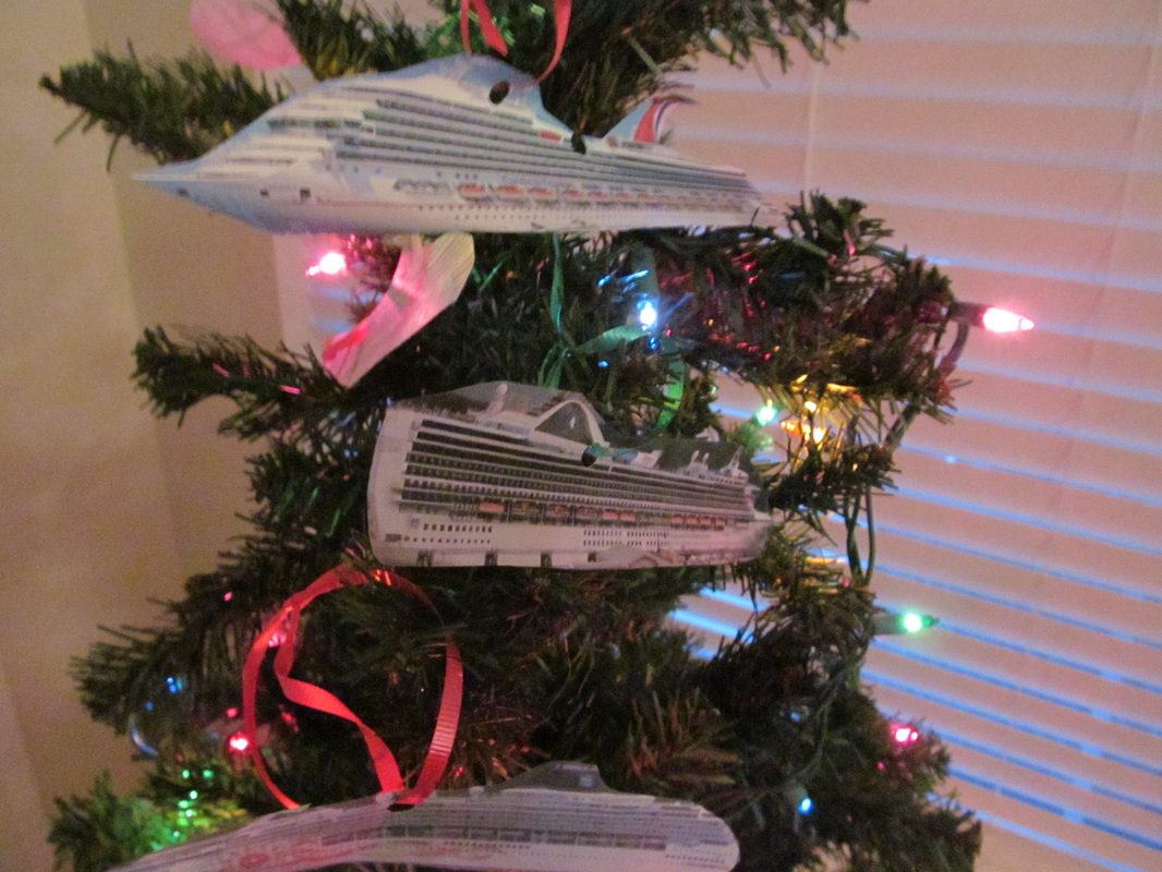 Cruise Ship Themed Christmas Tree 2014 RyGs Cruise Guide