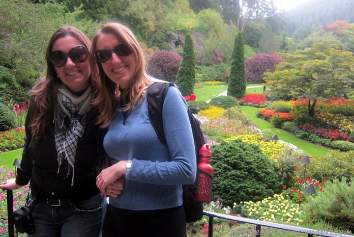 The Butchart Gardens Sunken Garden
