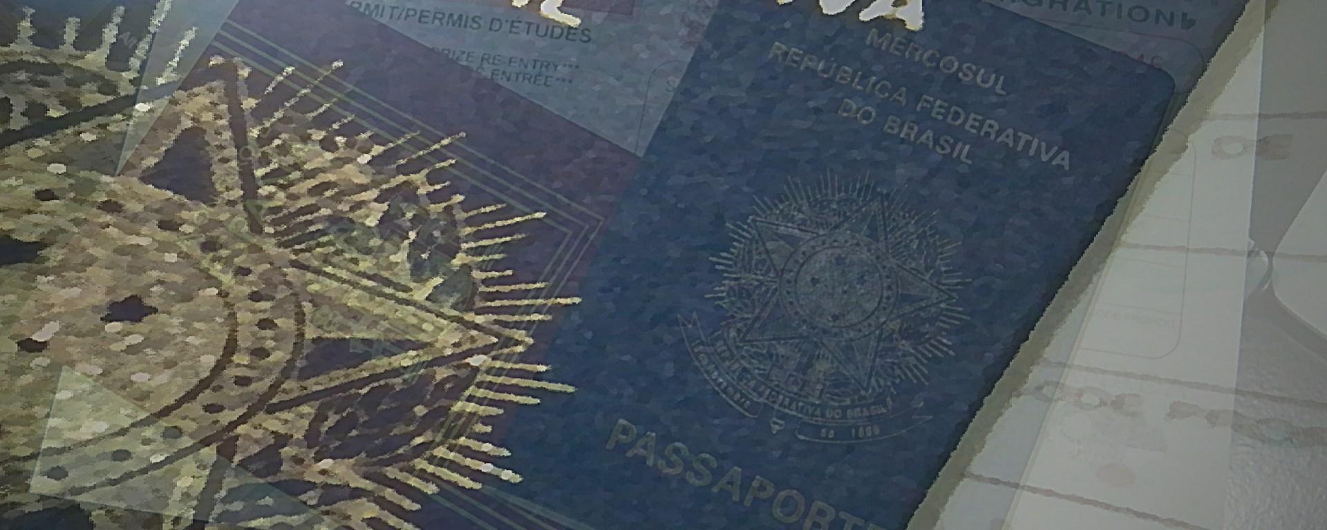 Lista de documentos necessários para passar pela imigração canadense