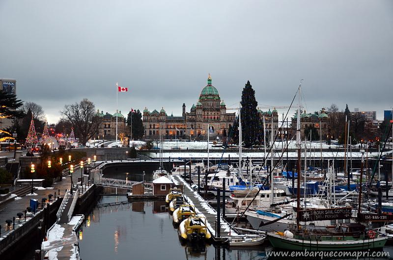 Mercado de trabalho em Victoria, Canadá