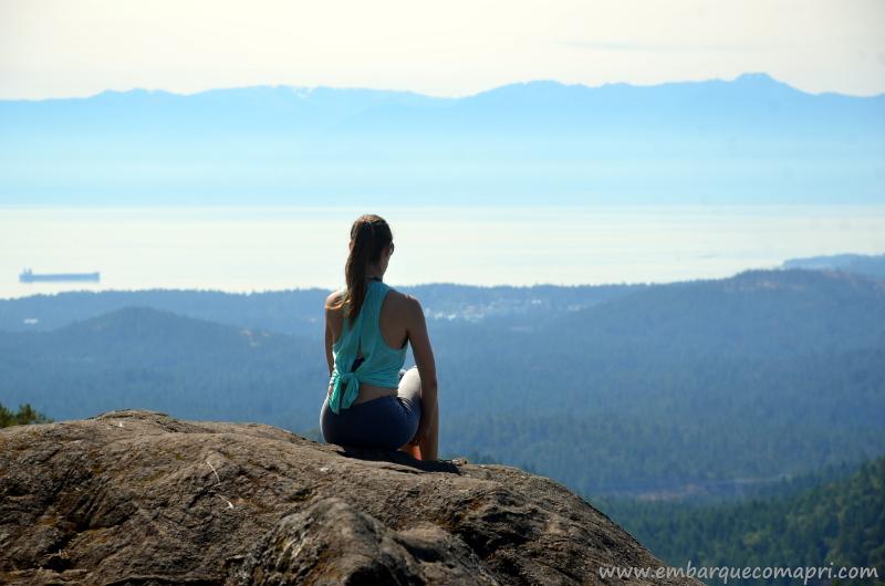 Parques e Trilhas em Victoria - Mount Work uma trilha incrível com um belo visual!