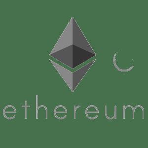 Ethereum logo bw