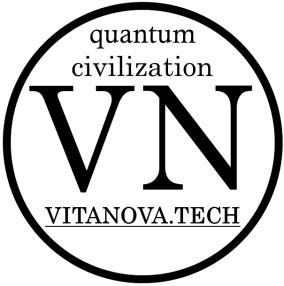 Vita Nova Logo Международный фонд VITA NOVA или квантовая цивилизация - это эволюция