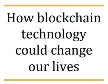 «Как блокчейн может изменить нашу жизнь». Доклад Европейского парламента