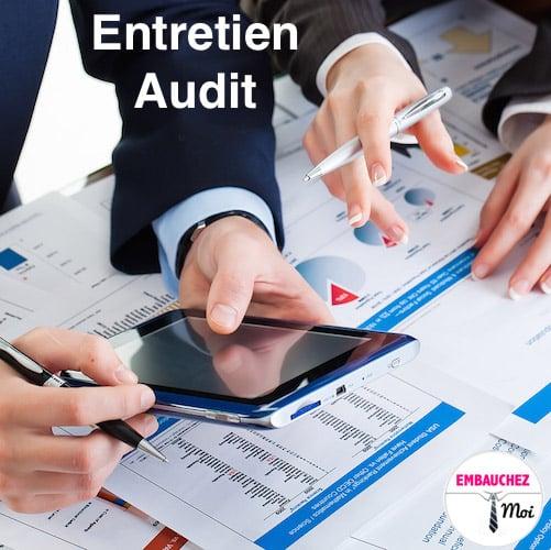 Questions Entretien d'embauche en audit
