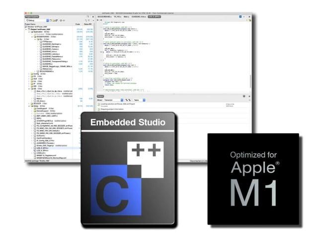 SEGGER-Apple M1 Embedded Studio