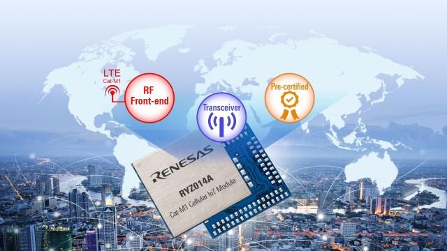 Renesas RYZ014A_Module