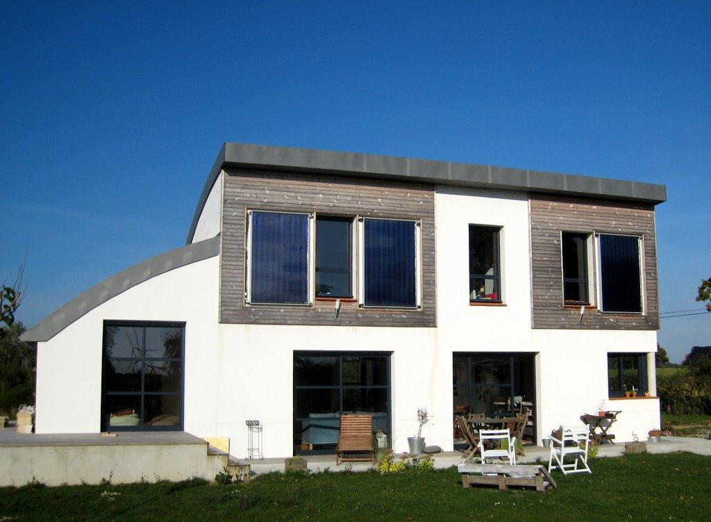 Facade exterieur maison maisons amnagement extrieur for Enduit exterieur maison contemporaine