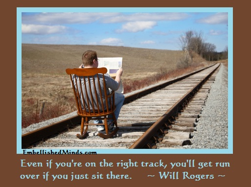 Motivation Quotes Will Rogers Quotes You Ll Get Run Over