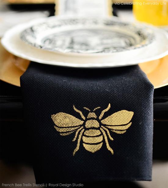 queen-bee-napkins