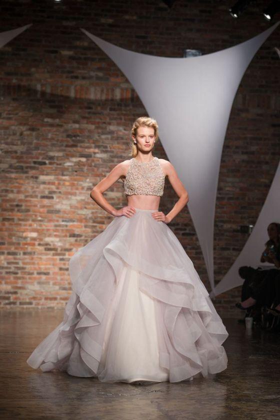 2014 Wedding Trends | Crop Top Dress 90's