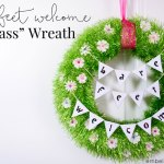 Bring a little bit of Spring to your home with this easy DIY grass wreath