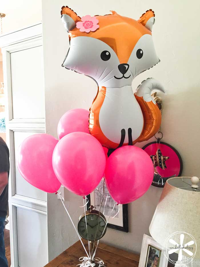 This foxes and donuts themed party was the perfect theme for a simple pre-teen birthday party.