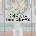 Rustic Kitchen Gallery Wall Reveal