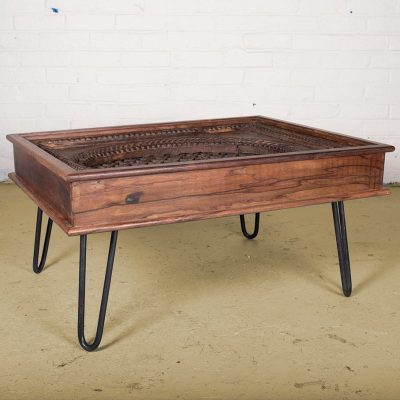 hamesha old window coffee table
